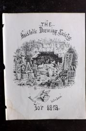 Anastatic Drawing Society 1858 Print. Illustrated Title Page